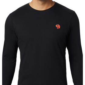 Mountain Hardwear Dome Degrees Langærmet T-shirt Herrer, black